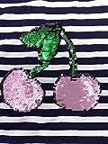Panel Jersey Stoff Kinderstoff Glitzer Wendepailette