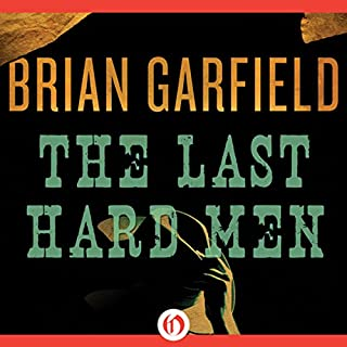 The Last Hard Man audiobook cover art