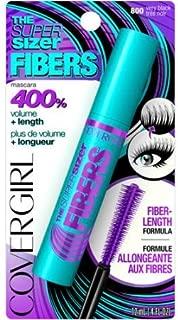 COVERGIRL Mascara Super Sizer FIBERS 800 Very Black .4 OZ