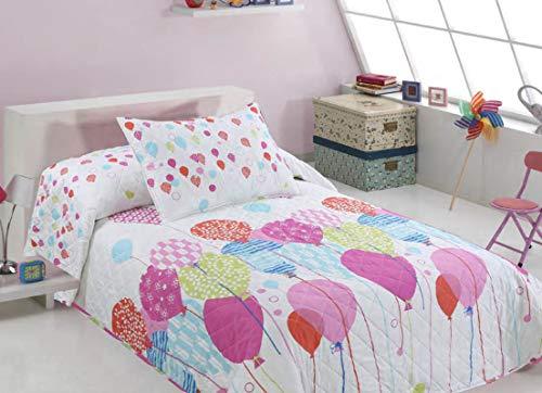 Wiss Home SL Colcha bouti Infantil Glob (Cama de 90cm)