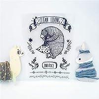 卸売透明クリアスタンプ女の子とクマシリコーンシールローラースタンプDIYスクラップブッキングフォトアルバム/カード作成