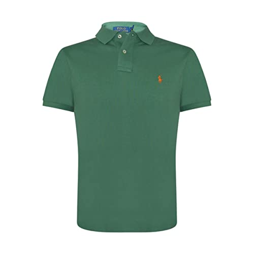 7ed9a764 Polo Ralph Lauren Mens Custom Slim Fit Mesh Polo Shirt