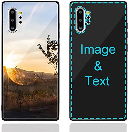 MXCUSTOM Custom Samsung Galaxy Note 10 Plus Case Customized Personalized Anti Scratch Tempered product image