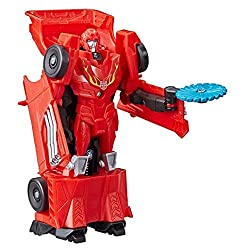 4.25-inch Autobot Hot Rod figure: 4.25-inch one-step changer Autobot Hot Rod action attackers figure inspired by the cyberverse animated series Repeatable attack move: Convert the legendary Autobot Hot Rod figure to reveal his signature fusion flame ...
