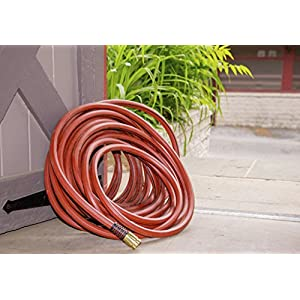 """Swan Products ELCF34075 Element ContractorFARM Professional and Agricultural Water Hose 75' x 3/4"""", Red"""