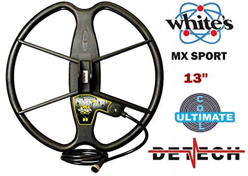 Bobina detector Whites MX Sport y MX7 (Marca Detech) con Protector de Bobina Incluido