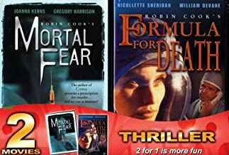 Mortal Fear / Formula For Death (2 Pack) by Robin Cook's