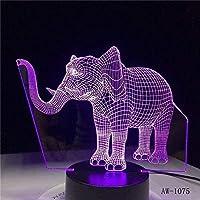 3Dナイトライトロボットツインズ3Dイリュージョンランプと7色変更装飾ランプリモコン付きリビングベッドルームバークリスマスギフトデコレーション子供の誕生日プレゼント-B2-B20