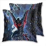 anzonto Funda de almohada de viaje con diseño de Batman de dibujos animados de...
