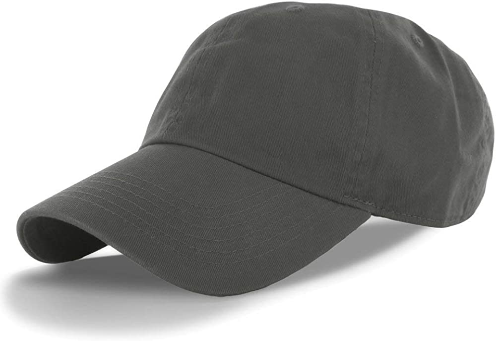 Gorgeous Kangora Plain 100% Max 72% OFF Cotton Adjustable Baseball Cap