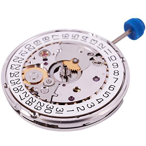 Kamenda para ETA 2824-2 SELLITA SW200 Blanco 3H Movimiento MecáNico Reloj Reloj