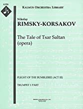 The Tale of Tsar Saltan (opera) (Flight of the Bumblebee (Act III)): Trumpet 1 and 2 parts (Qty 2 each) [A1926]