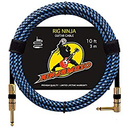 Rig Ninja Guitar Cables by NINJAMUSO
