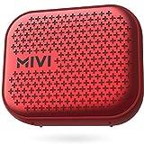 Mivi Roam 2 5 Watt Wireless Bluetooth Portable Speaker (Red)