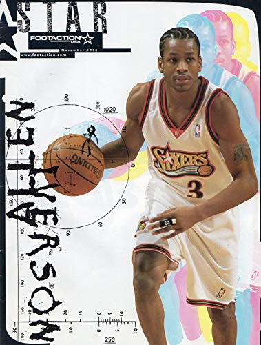 Allen Iverson Cover Footaction USA November 1998