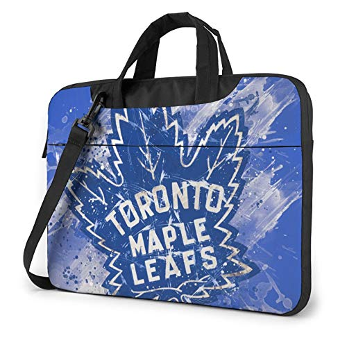Laptop Sleeve Case Business Laptop Shoulder Bag Toronto-Maple-Leaf&s Tablet Briefcase Protective Carrying Case Compatible with Dell Lenovo HP Acer Samsung Sony Chromebook Computer