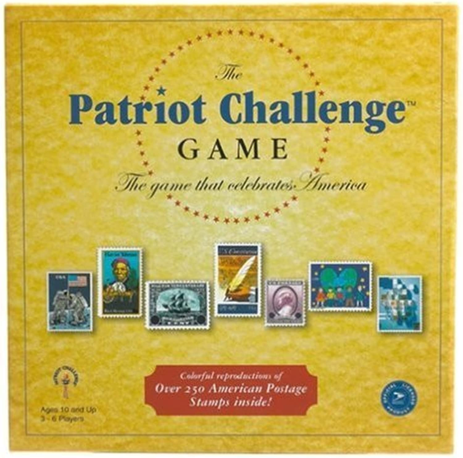 Patriot Challenge Board Game by Late for the Sky