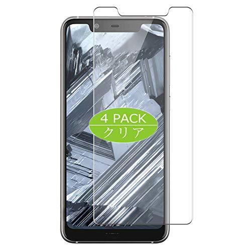 Vaxson - Confezione da 4 pellicole protettive per display compatibili con Nokia 5.1 Plus Nokia X5, Ultra HD, non in vetro temperato, pellicola protettiva flessibile in TPU