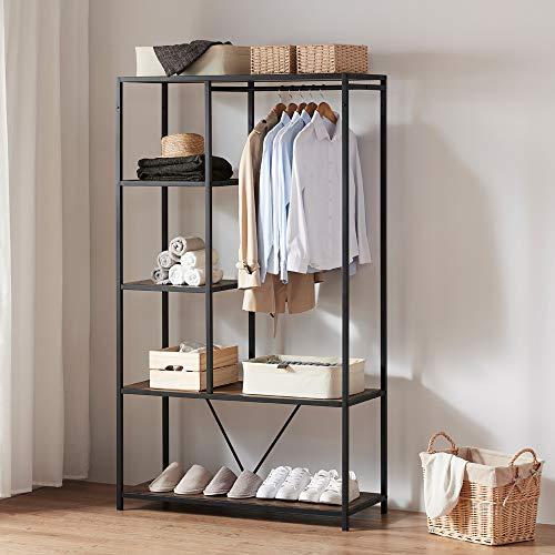 Destop Floating Shelves,Rustic Wood Wall-Mounted Storage Shelves,Multi-Use Wooden Hanging Shelves for Living Room, Bedroom,Bathroom,Kitchen and Office (Set of 2,Brown)