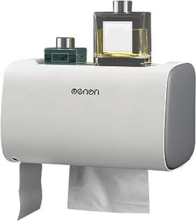 JLCKS Toilet paper towel dispensing Ni double wall door bathroom tissue cassette storage box kitchen paper towel dispenser...