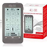 TENS Unit and EMS Combination Muscle Stimulator with 2 Channels, 12 Modes for Pain Management for Back, Neck, Arms,...