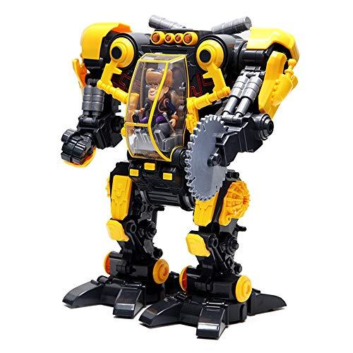 Lihgfw Elektrische Kettensäge Roboter Baby Kinderspielzeug for Mädchen und Jungen über 2 Jahre alt Weihnachten Geburtstagsgeschenk (Color : Yellow)