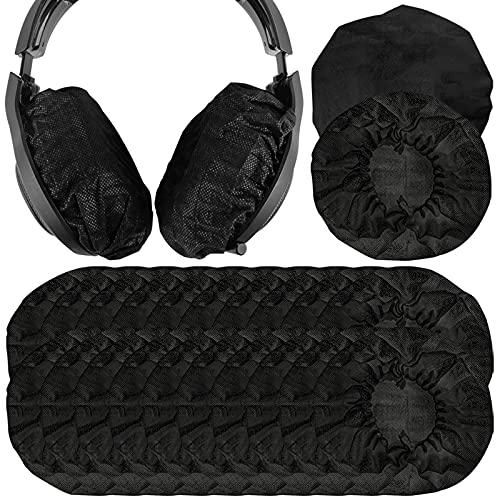 Geekria 100pairs Dehnbare Kopfhörer-Abdeckungen, Einweg-Ohrmuscheln für AKG K701, Q701, Sennheiser HD900, HD800, Razer Kraken X, 7.1 Chroma V2, Pro V2 Over-Ear Headset
