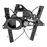 Power Window Regulator w/Motor Assembly & 2 Pin Rectangular Connector Passenger Front Replacement for 03-06...