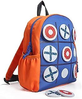 "New B: ""Tic Tac Toe"" Kids Activity School Backpack"