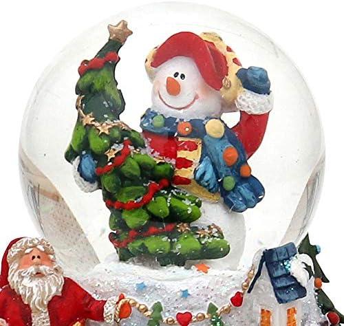 Dekohelden24 Bola de Nieve, Aprox. 6,5 cm.: Amazon.es: Hogar