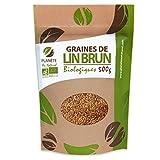Graines de Lin Brun BIO - 500g (Linum...