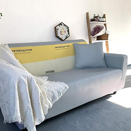 Allenger Funda de sofá Antideslizante,Funda de sofá con Estampado elástico, Funda de sofá con Todo Incluido, Protector de sofá-D5_190-230cm