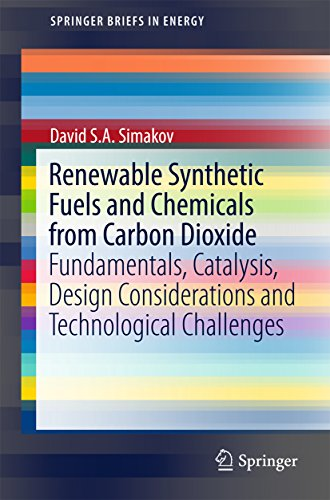 Renewable Synthetic Fuels and Chemicals from Carbon Dioxide: Fundamentals, Catalysis, Design Considerations and Technological Challenges (SpringerBriefs in Energy) (English Edition)