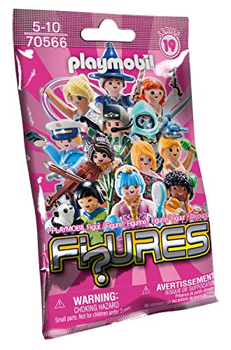 PLAYMOBIL Figures 70566 Zufallsfigur - Girls (Serie 19), Ab 5 Jahren