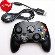 GOZAR Negro con Cable Clásico Gamepad Controlador De La Tecla De Mando para Xbox Consola