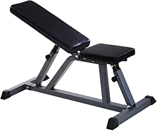 GOPLUS Sit Up Bench Adjustable Workout Utility AB Incline Flat Weight Bench 8-Position 440-lb Capacity