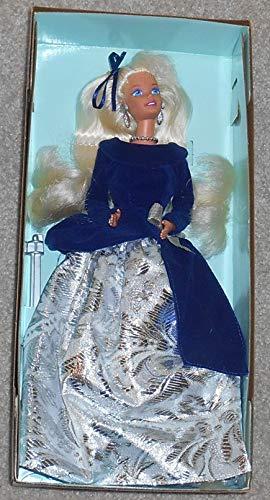 Special Edition Barbie Winter Velvet Doll Avon Exclusive 1st Series (1995)