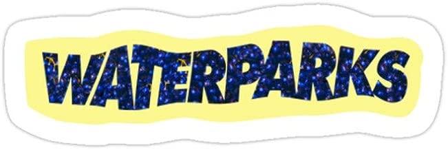 Deangelo Waterparks Logo Sticker Stickers (3 Pcs/Pack)