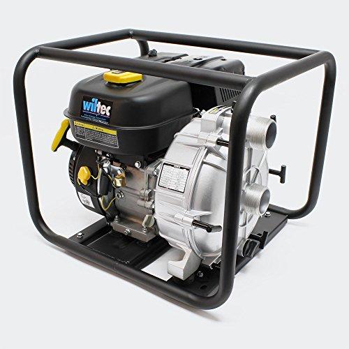 Bomba de aguas residuales de gasolina LIFAN 36m³/h 26m 4,8kW (6,5PS) 50mm (2')