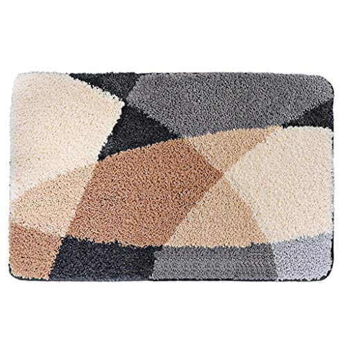 Sale!! CarPet Bathroom Absorbent Floor mat Rug Bedroom Thickening mat (Size : 5080cm)
