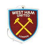 Deodorante per auto con stemma del West Ham FC (Taglia unica) (Rosso/Giallo/Blu)