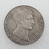 Moneda Exquisita artesanía Antigua Francia 1803 Moneda Conmemorativa 5F Medalla Conmemorativa se Puede soplar imitación dólar de Plata Comercio Exterior # 1115