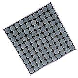 Sharplace Juego de 100 Puntas de Taco de Billar Puntas de Palo de Taco de Billar Kit de Reparación de Accesorios - 11mm
