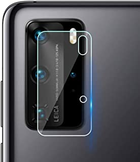 XINKOE Back Camera Lens Screen Protector for Huawei P40 Pro, [3 Pack] Ultra-Thin 2.5D HD Camera Lens Tempered Glass Protec...