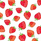 CasaJame Servietten (2er Set / 40Stück) 3-lagig 33x33cm Erdbeeren Strawberries