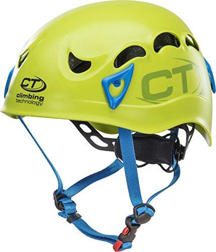 Climbing Technology Galaxy Helm Unisex Erwachsene, Unisex, 6X94809AE0CTSTD, Verde/Azzurro, Regolabile da 50-61 cm