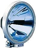 HELLA 1F8 006 800-321 FF/Halogène-Projecteur longue portée - Rallye 3000 - 12/24V - rond - Chiffre de référence: 37.5 - Montage en saillie - Couleur du voyant: bleu - gauche/droite