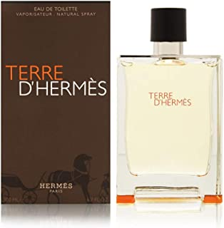 Hermes Terre D' Hermes Eau De Toilette Spray for Men, 6.7 Ounce / 200 Ml