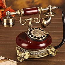 $75 » XICHEN Vintage Style Old Fashioned Rotary Dial Telephone- Hotels/Galleries/Jewellery firms/Home and Office Telephone Elega...