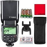 [技適マーク/日本語説明書/1年保証付] Godox Thinklite TT600 フラッシュ スピードライト マスタースレーブ GN60 [日本正規代理店/2.4Gワイヤレス Xシステム/キャノン/ニコン/ペンタックス/オリンパス/DSLR対応/セット品]